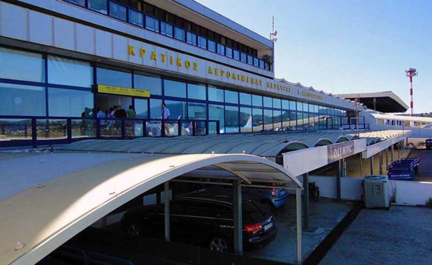 Corfu airport arrivals and depatures information for holiday makers